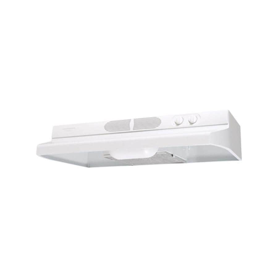Air King Undercabinet Range Hood (White) (Common: 36-in; Actual: 36-in)