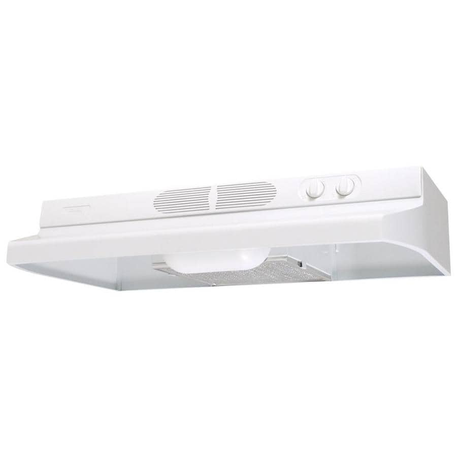 Air King Undercabinet Range Hood (White) (Common: 30-in; Actual: 30-in)