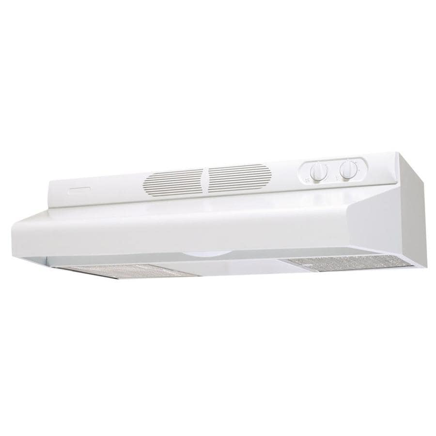 Air King Undercabinet Range Hood (White) (Common: 24-in; Actual 24-in)