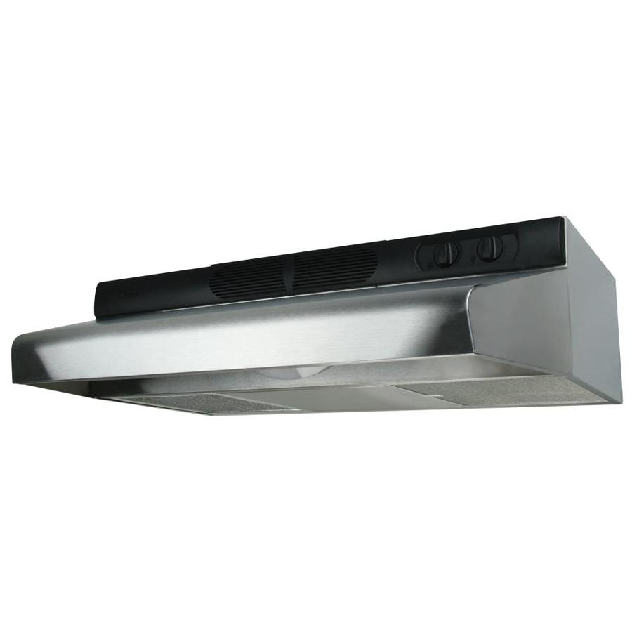 Air King Undercabinet Range Hood (Stainless Steel) (Common: 24-in; Actual 24-in)