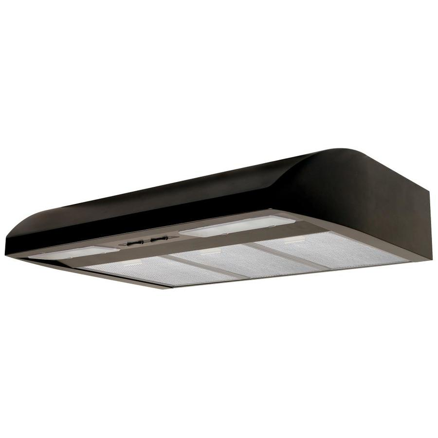 Air King Undercabinet Range Hood (Black) (Common: 36-in; Actual: 36-in)