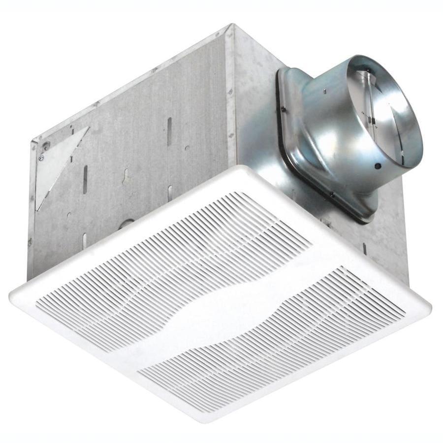 Air King 0.3-Sone 80-CFM White Bathroom Fan