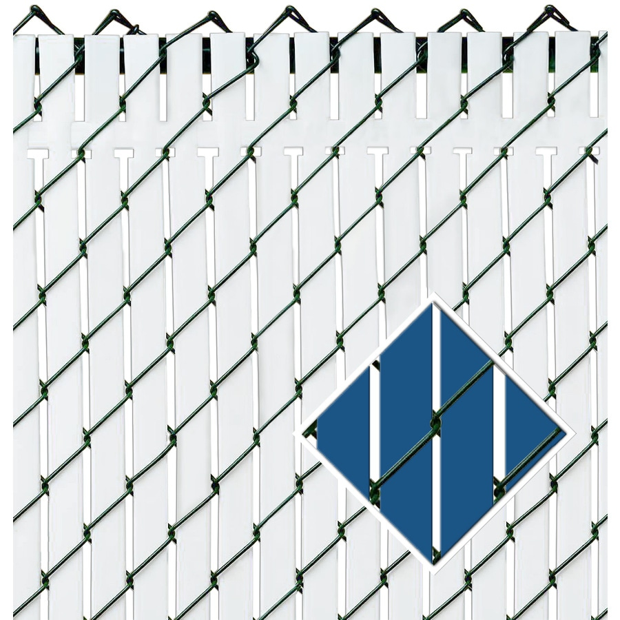 Pexco Blue Chain-Link Fence Privacy Screen
