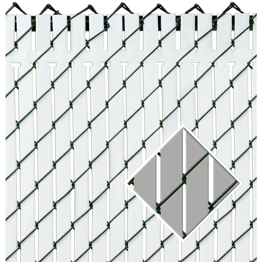Pexco Gray Chain-Link Fence Privacy Screen