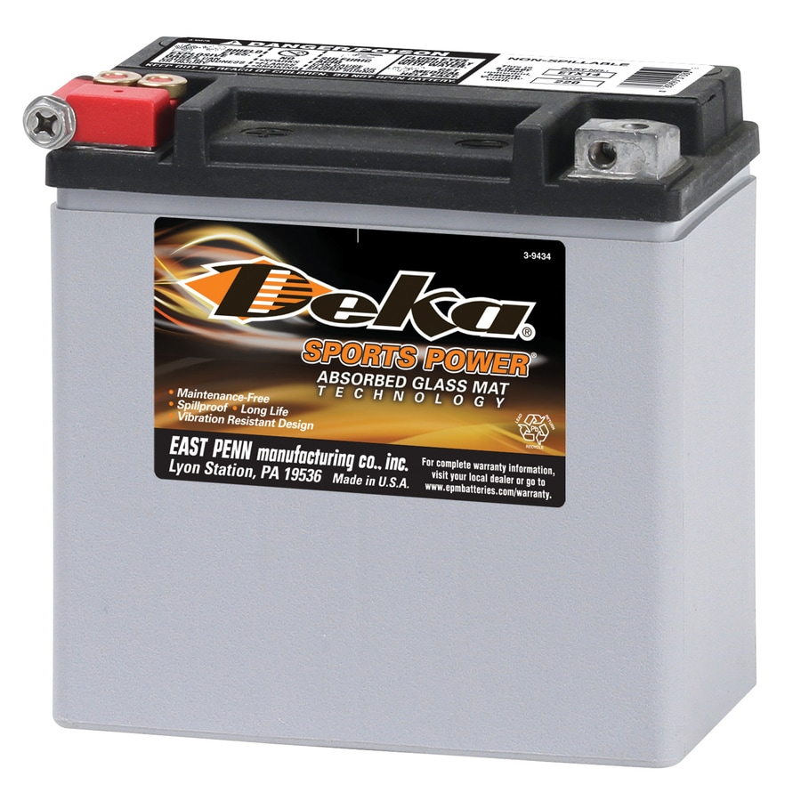 Shop Deka 12 Volt Motorcycle Battery At