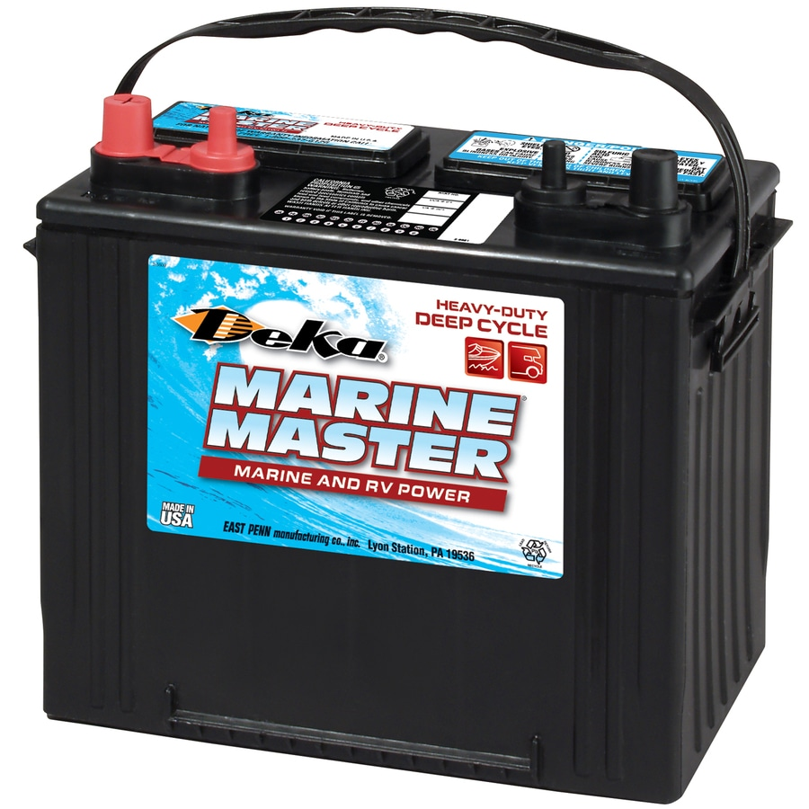 deka 12 volt 625 amp marine battery at. Black Bedroom Furniture Sets. Home Design Ideas