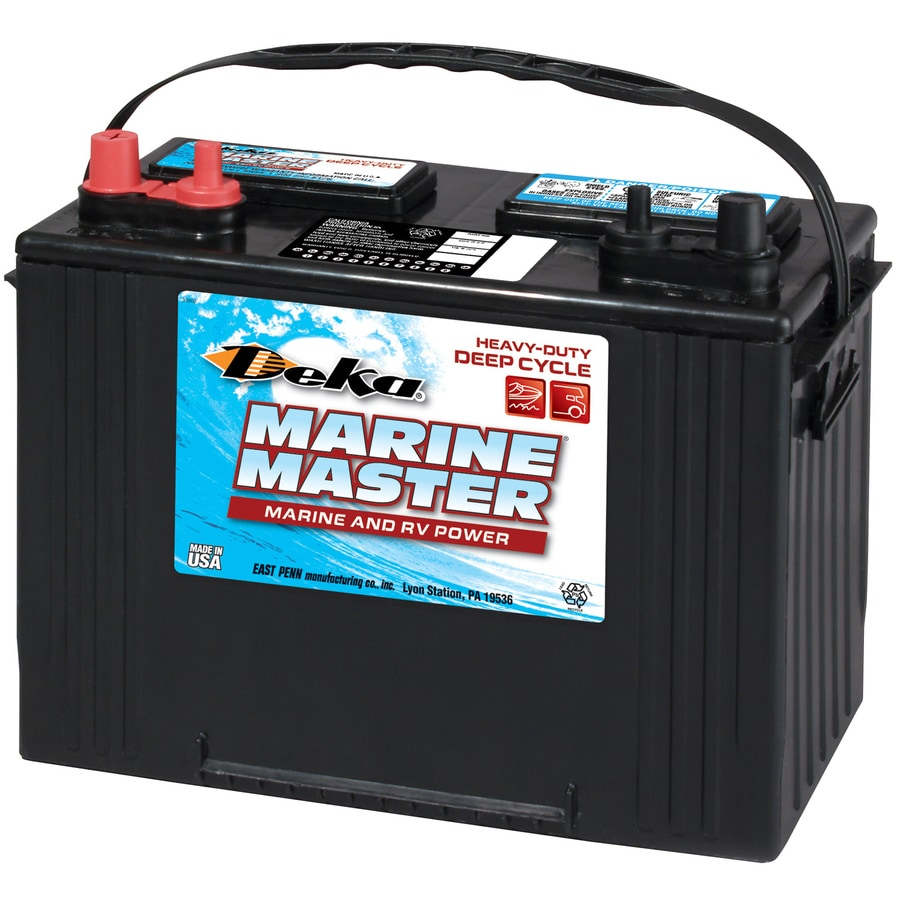 shop deka 12 volt 715 amp marine battery at. Black Bedroom Furniture Sets. Home Design Ideas
