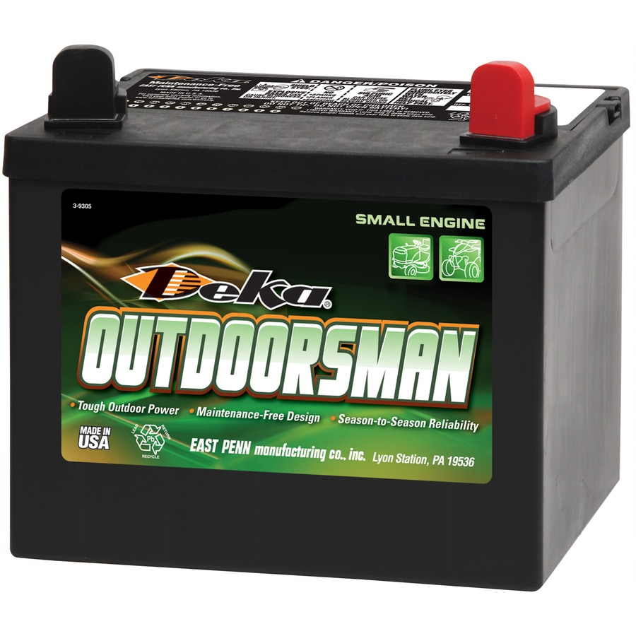 Deka 12 Volt 365 Amp Mower Battery