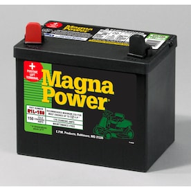 Mower Equipment Batteries At Lowes