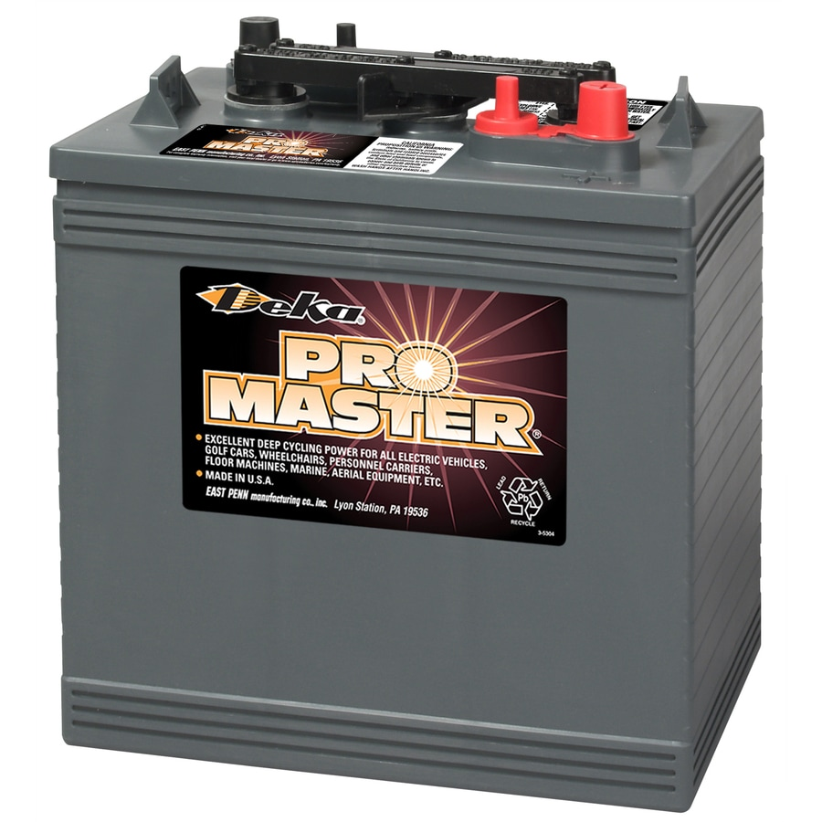 shop deka 6 volt 448 amp golf cart battery at. Black Bedroom Furniture Sets. Home Design Ideas