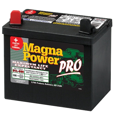 Magna Power 12 Volt 365 Amp Lawn Mower Battery At