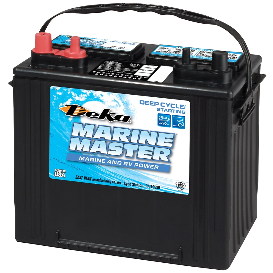 12 Volt Battery : Shop deka volt amp marine battery at lowes
