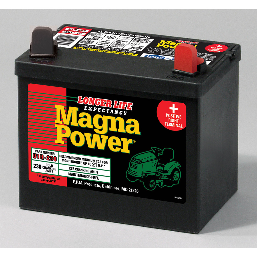 Shop Sure Power 12 Volt 275 Amp Lawn Mower Battery At 10 Ampere