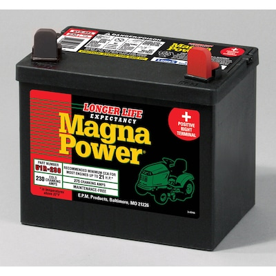 12 Volt 275 Amp Lawn Mower Battery