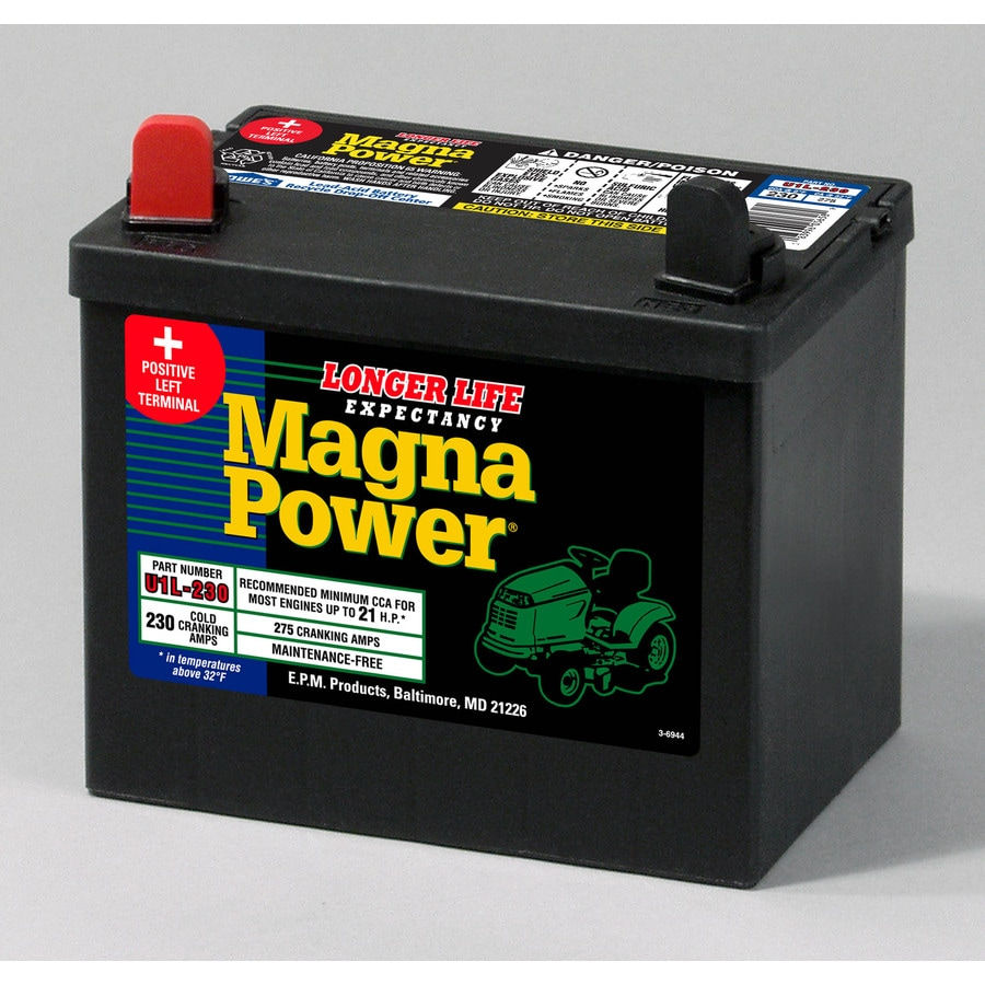 shop sure power 12 volt 275 amp lawn mower battery at. Black Bedroom Furniture Sets. Home Design Ideas
