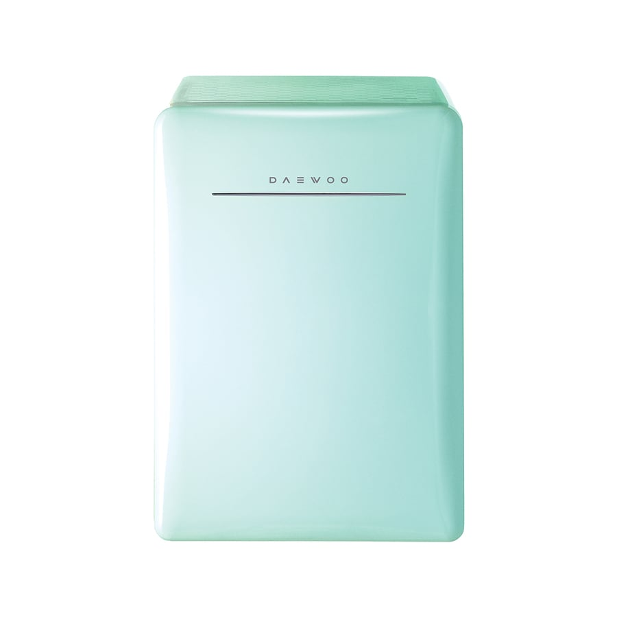 Daewoo Retro 2.8-cu ft Freestanding Compact Refrigerator (Mint Green)