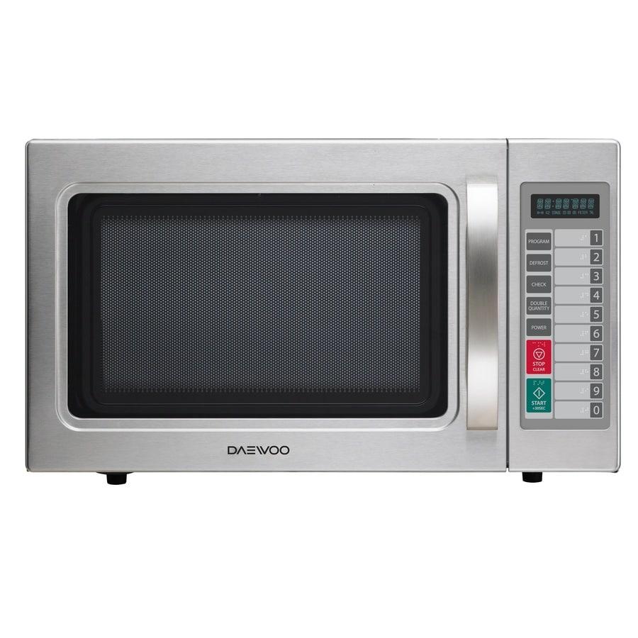 Daewoo 1-cu ft 1,000-Watt Commercial Countertop Microwave (Stainless Steel)