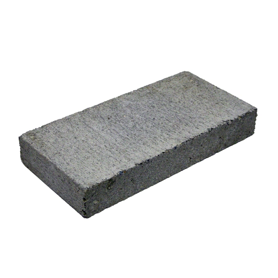 Shop Block Usa Solid Cap Concrete Block Common 16 In X 2