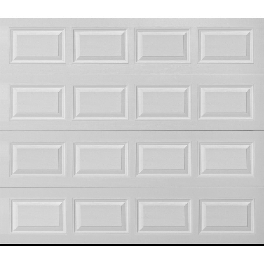 ReliaBilt Traditional Series 108-in x 84-in Insulated White Single Garage Door