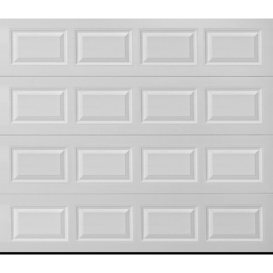 ReliaBilt Traditional Series 96-in x 84-in Insulated White Single Garage Door