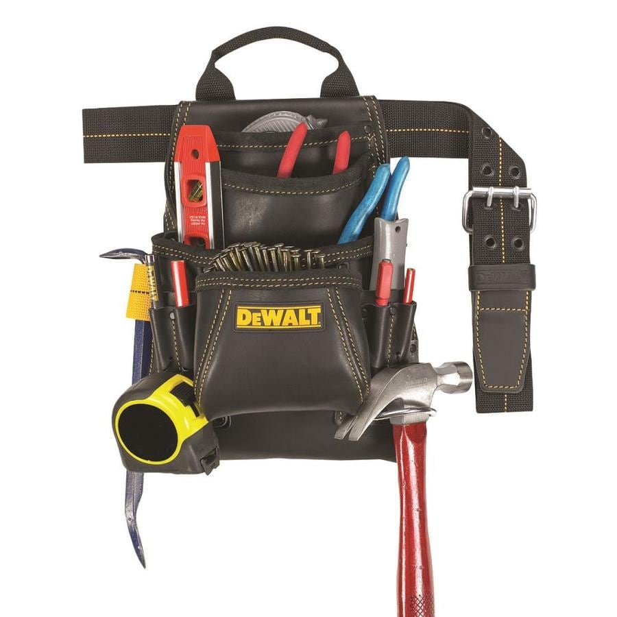 DEWALT General Construction Leather Tool Pouch