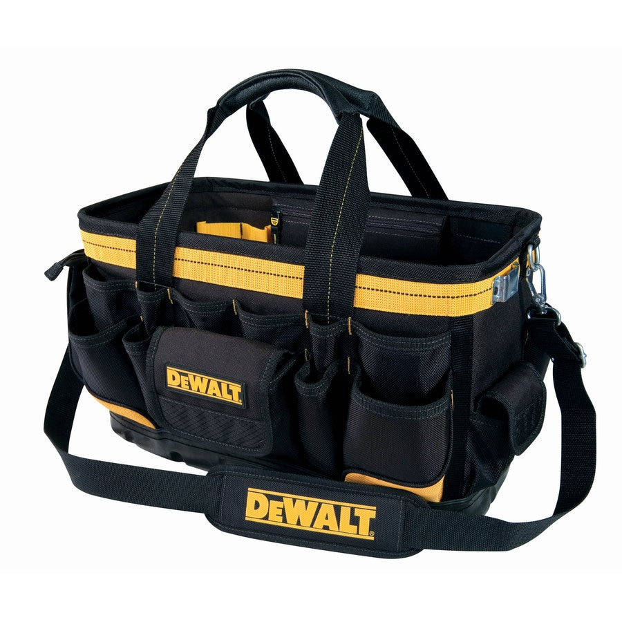 Answer Question About Dewalt 18 In Open Top Tool Bag At