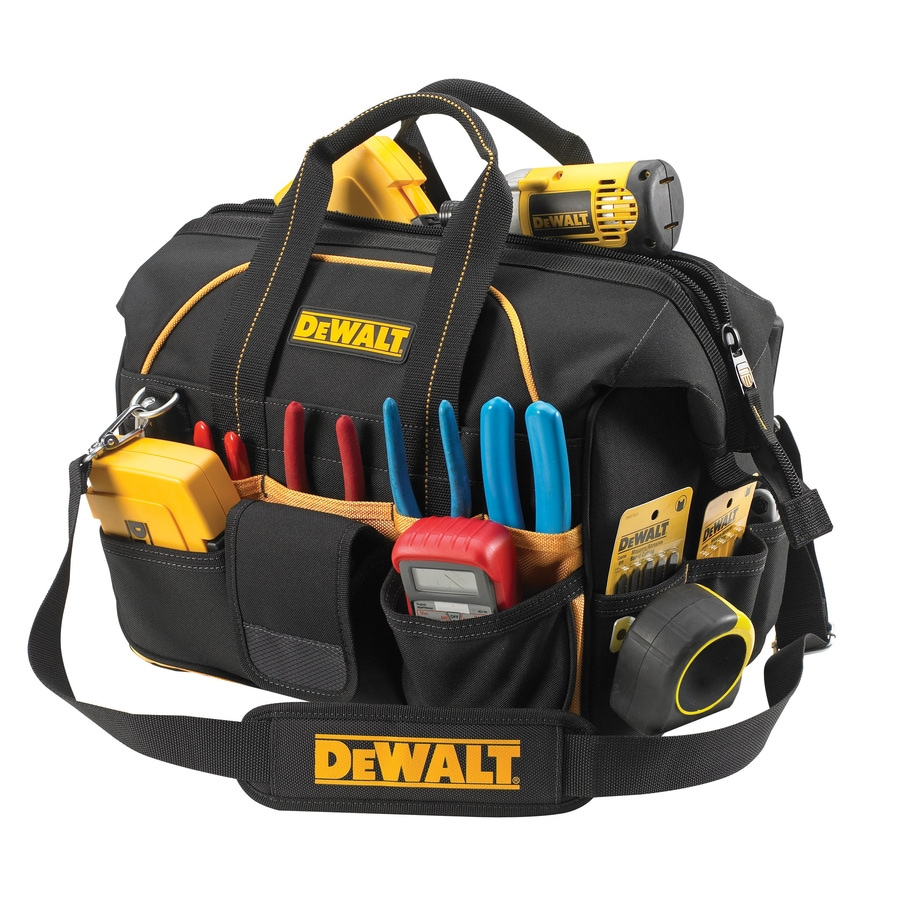 Write A Review About Dewalt Polyester Zippered Closed Tool