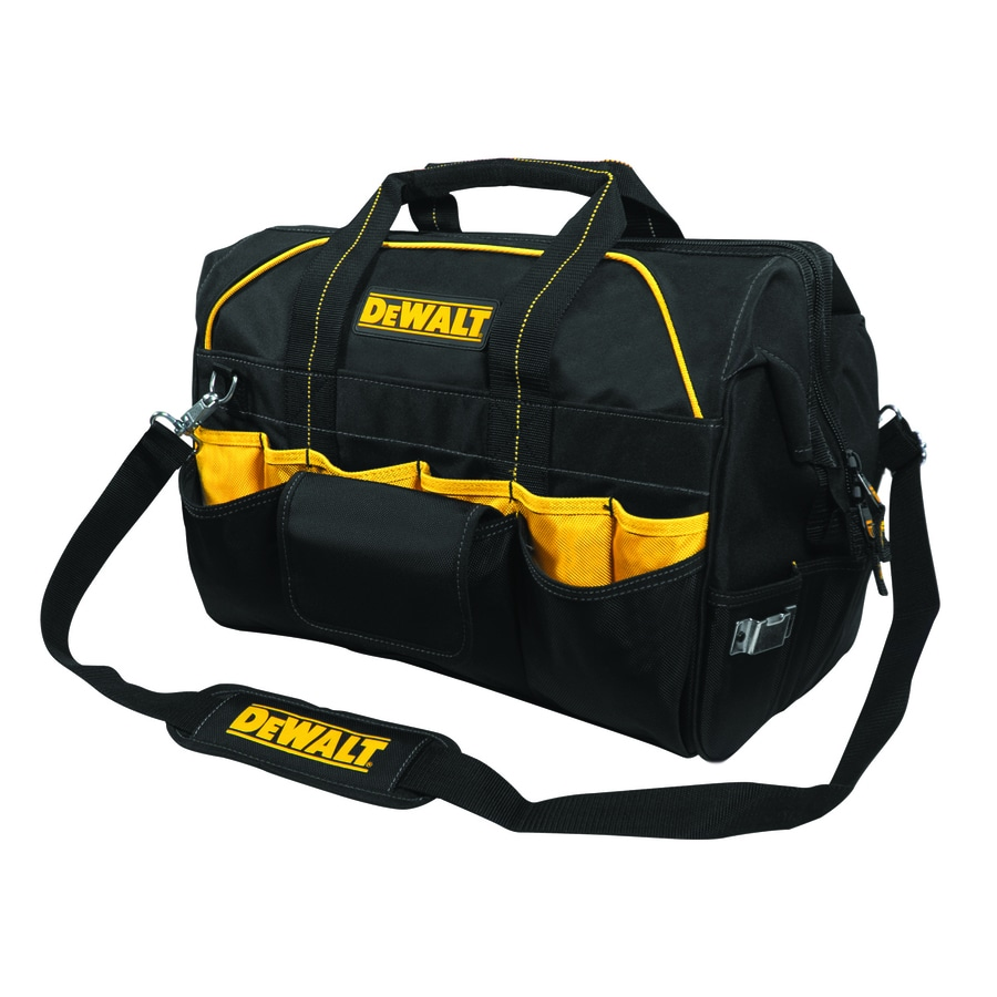 Shop Dewalt Polyester Zippered Closed Tool Bag At Lowes Com