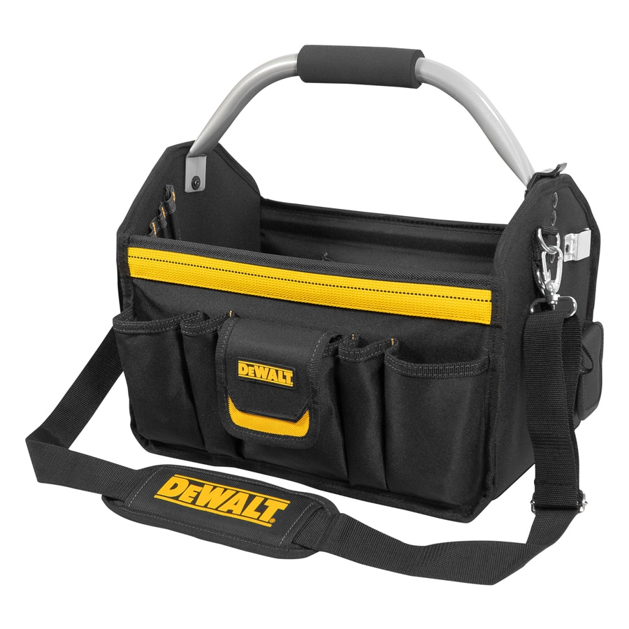 Shop Dewalt Polyester Buckle Tool Bag At Lowes Com