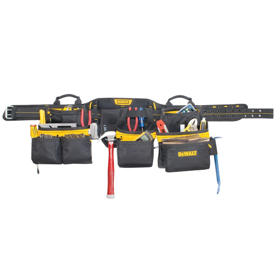 DEWALT General Construction Polyester Tool Apron