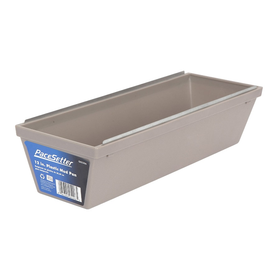 Pacesetter 4.6-in W x 13.6-in L x 3.2-in D Drywall Mud Pan