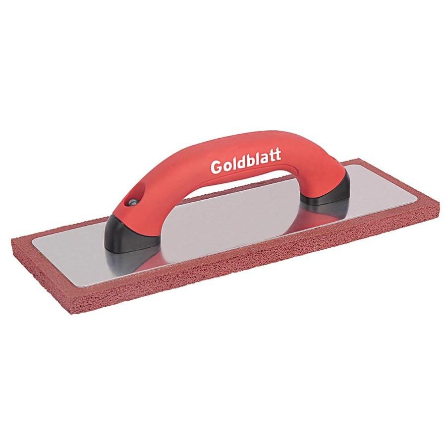 GOLDBLATT 12-in x 4-in Rubber Stucco Float
