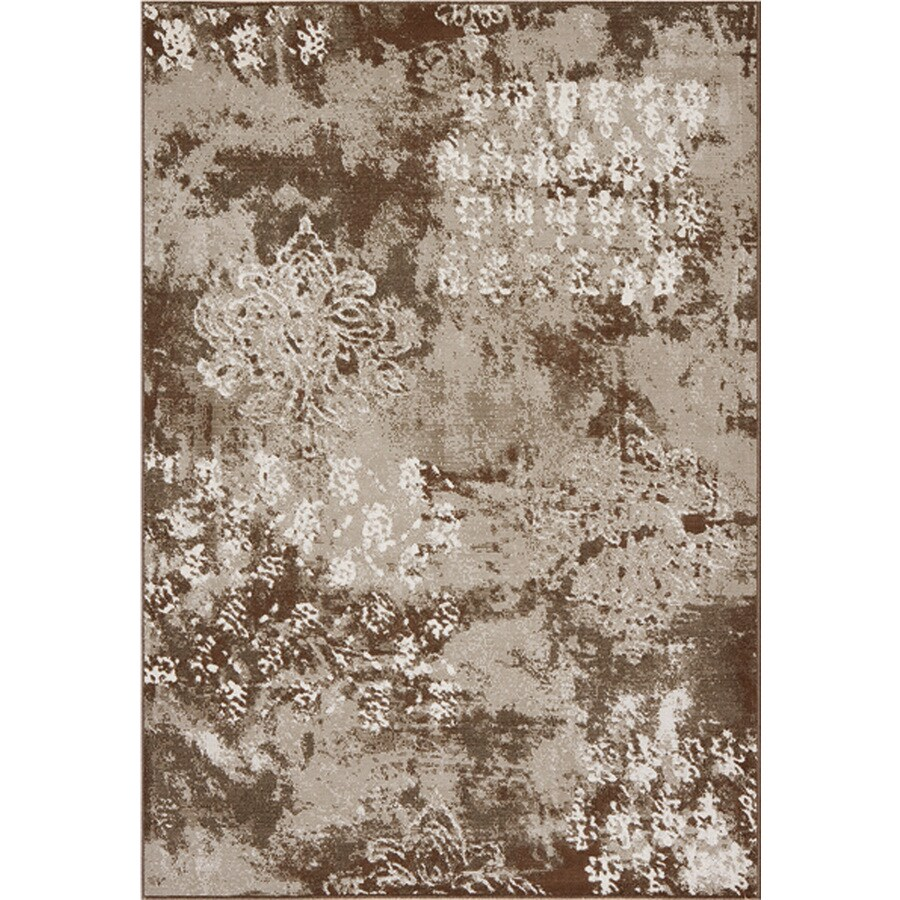 DYNAMIC RUGS Mysterio Rectangular Indoor Woven Area Rug (Common: 7 x 10; Actual: 79-in W x 114-in L)