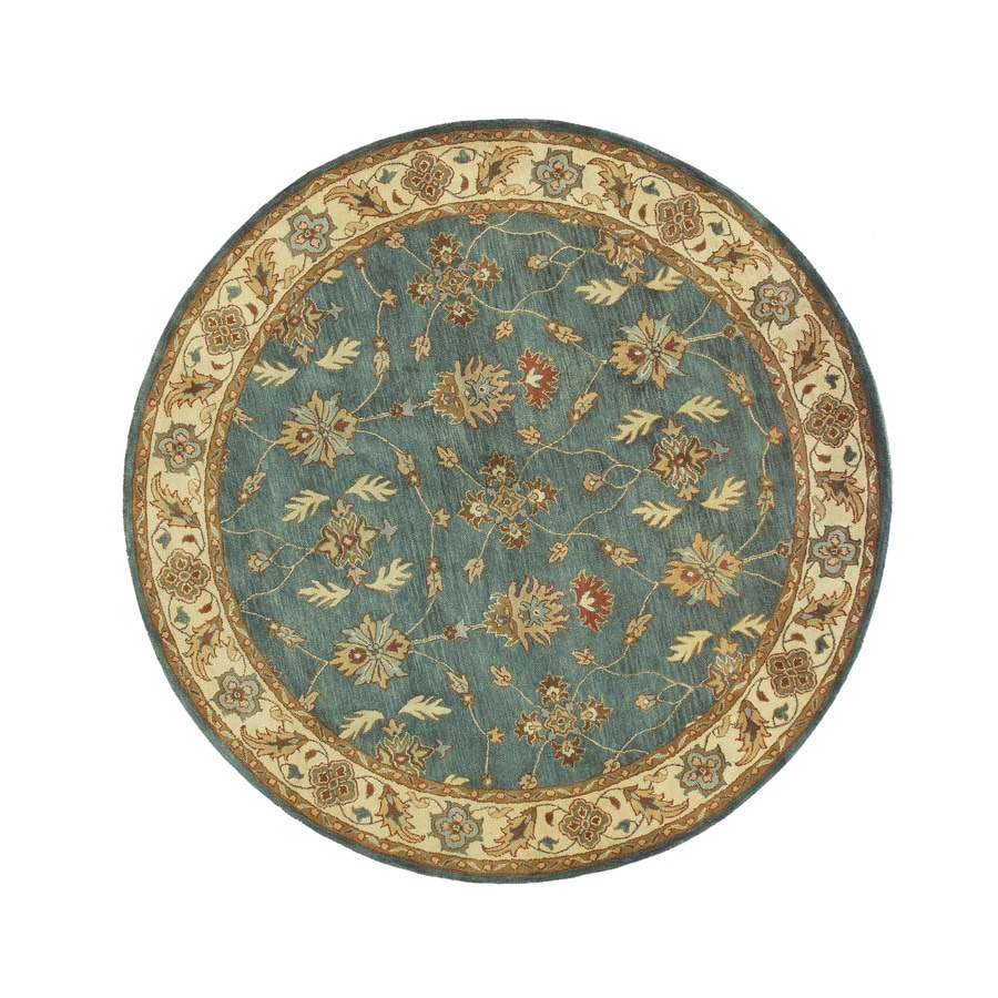 DYNAMIC RUGS Charisma Round Indoor Tufted Area Rug (Common: 5 x 5; Actual: 63-in W x 63-in L)