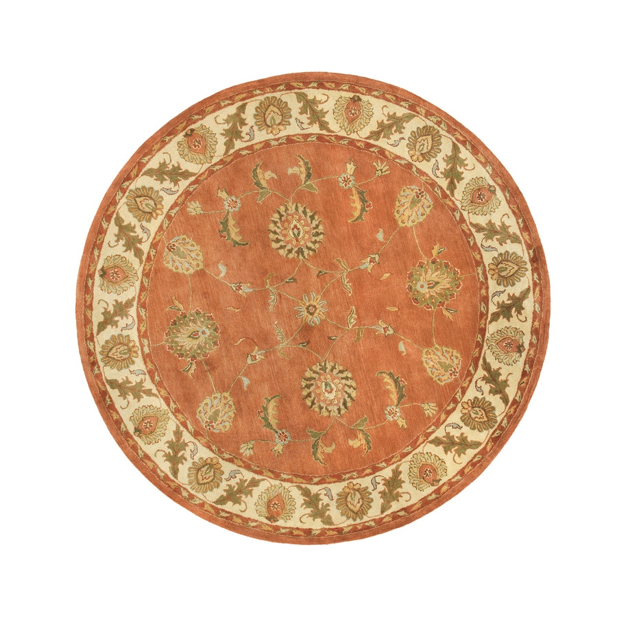 DYNAMIC RUGS Charisma Round Indoor Tufted Area Rug (Common: 8 x 8; Actual: 94-in W x 94-in L)