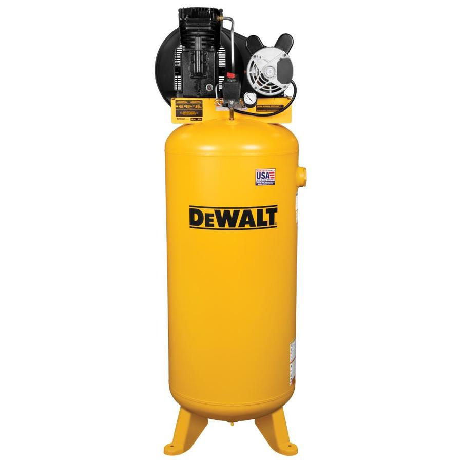 DEWALT 60-Gallon 155-PSI Electric Vertical Air Compressor