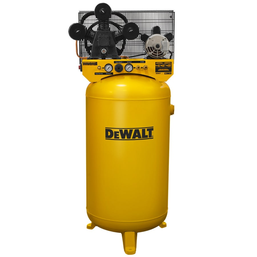 Dewalt 80 Gallon Electric Vertical Air Compressor At Lowes Com