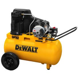 Dewalt 20 Gallon Portable Electric Horizontal Air Compressor