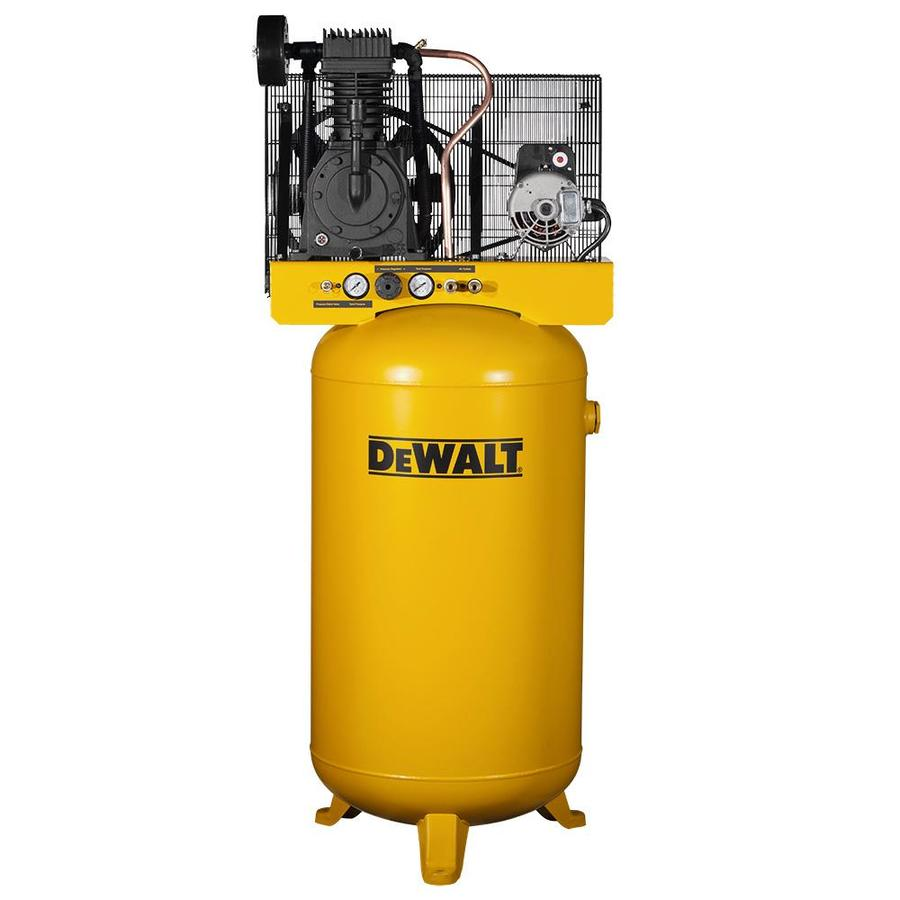 DEWALT 5-HP 80-Gallon Two Stage Electric Air Compressor