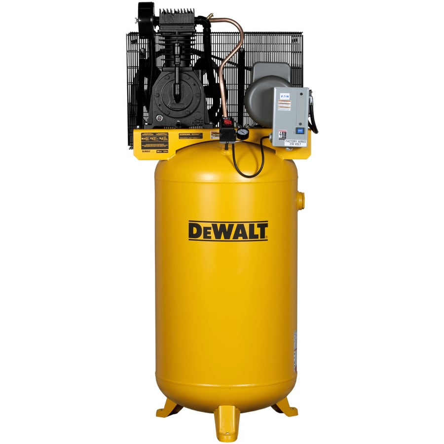 DEWALT 80-Gallon Electric Vertical Air Compressor