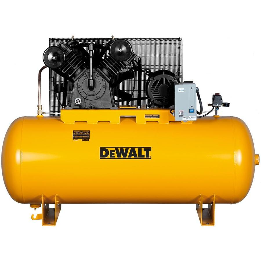 Shop Dewalt 120 Gallon Electric Horizontal Air Compressor