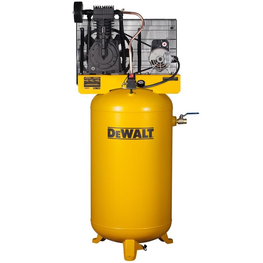 DEWALT 5-HP 80-Gallon Two Stage Electric Air Compressor