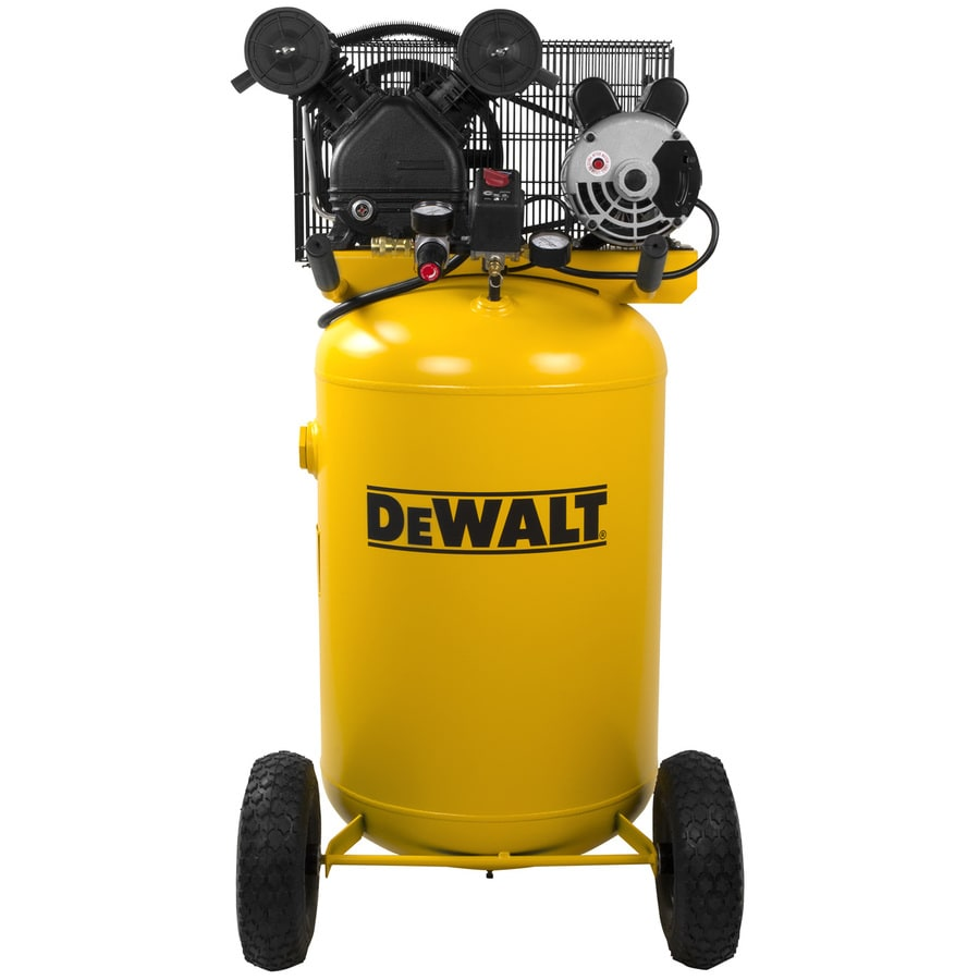 Dewalt 30 Gallon Portable Electric Vertical Standard 71 Decibel Or Above Air