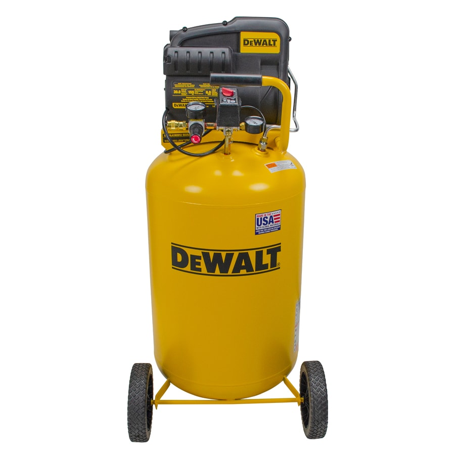 Shop Dewalt 1 9 Hp 30 Gallon 155 Psi 120 Volt Vertical