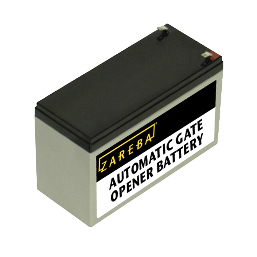 Zareba Replacement Battery For Automatic Gate Opener At Lowes Com