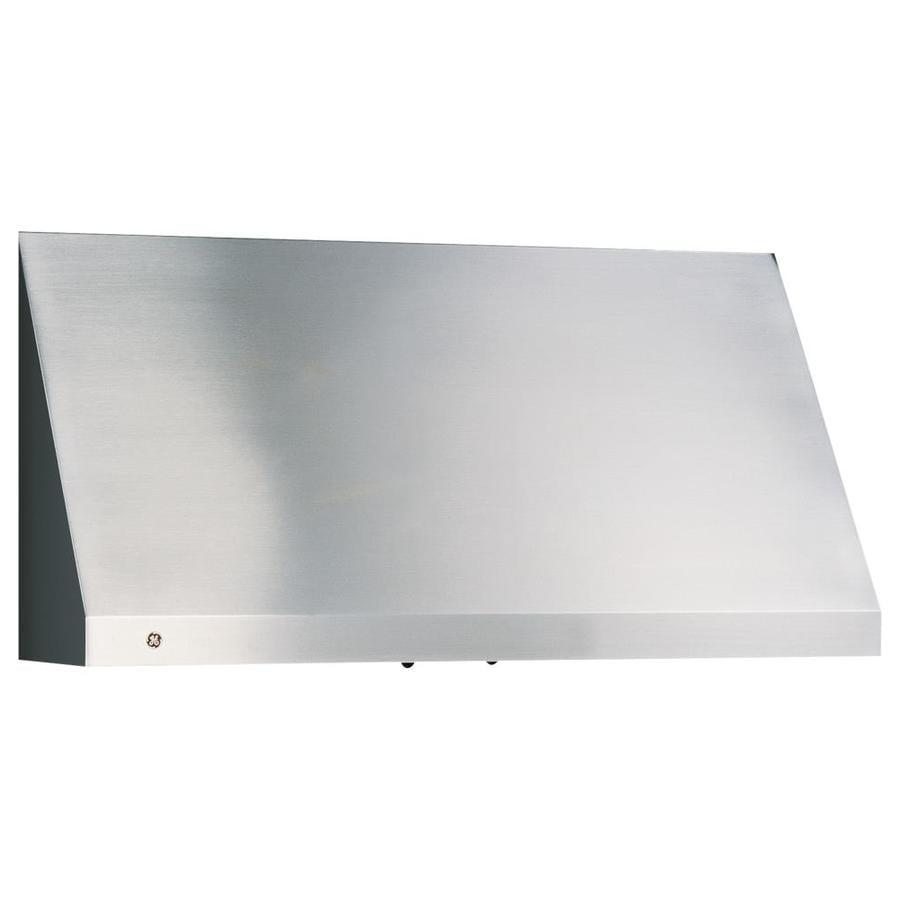 Shop Ge Profile Undercabinet Range Hood Stainless Steel