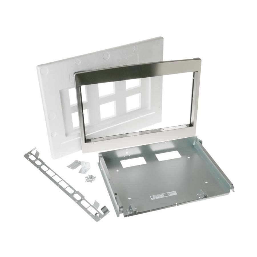 Ge Built In Microwave Trim Kit Stainless Steel