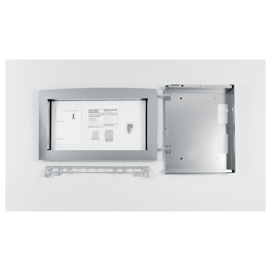 Ge Profile Built In Microwave Trim Kit Stainless Steel