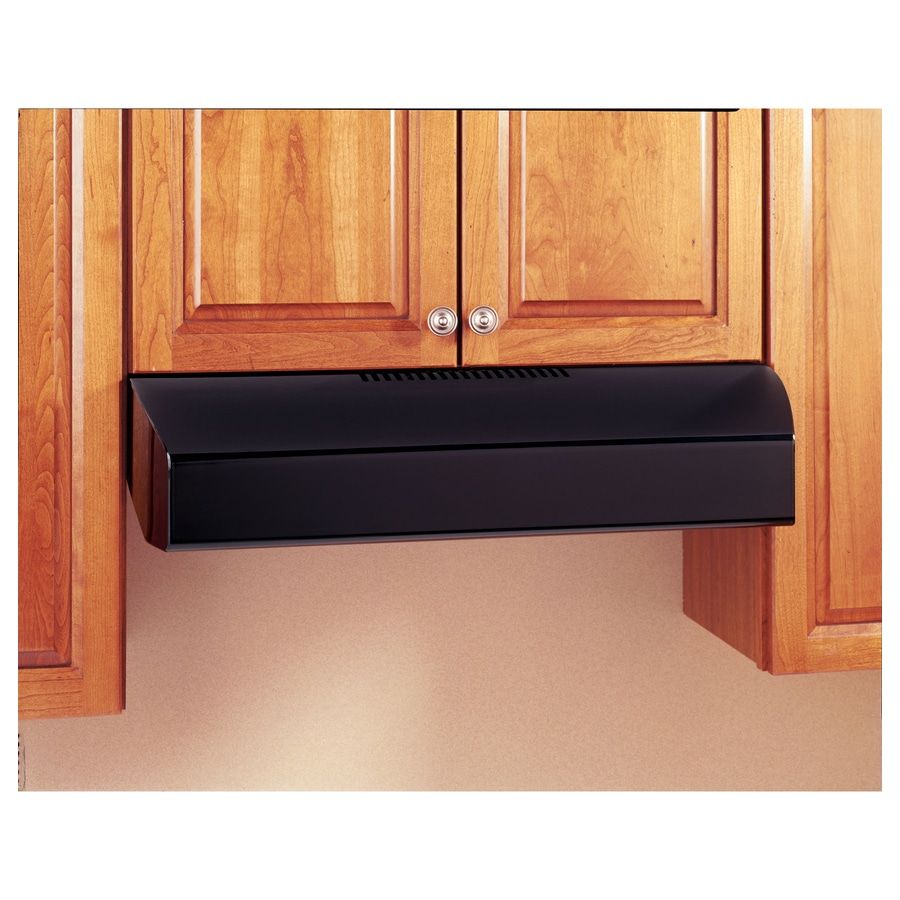 GE Profile Undercabinet Range Hood (Black on Black) (Common: 36-in; Actual: 35.875-in)