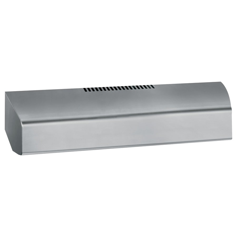 GE Profile Undercabinet Range Hood (Stainless Steel) (Common: 30-in; Actual: 29.875-in)